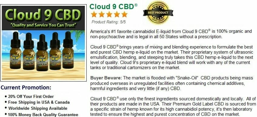 Best CBD E-Liquid