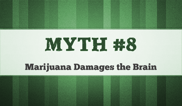 marijuana causes brain damage